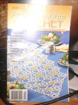 Annie's Favorite Crochet magazine, #116 April 2002