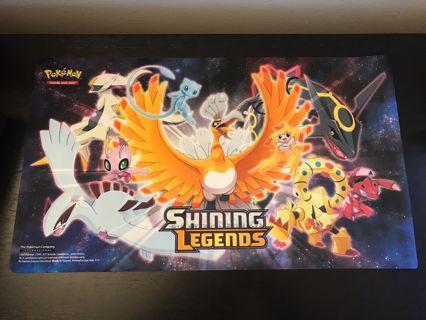 Pokemon Shining Legends Super-Premium Collection Playmat New 2017