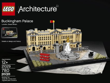 LEGO Architecture 21029 Buckingham Palace Building Kit (780 Piece) - New