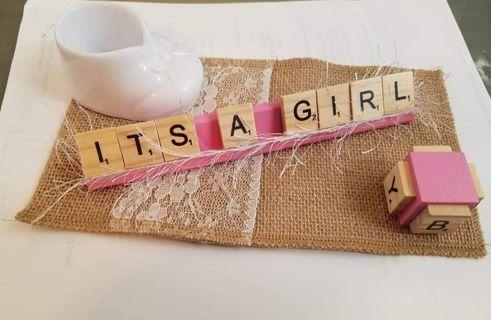 It's a Girl Scrabble set