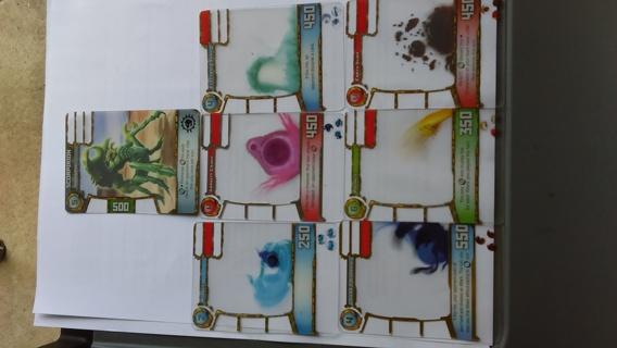 7 Redakai cards