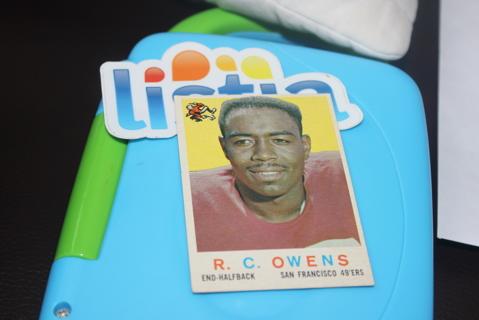 1959 Topps Football R.C. Owens San Francisco 49ers #33 NFL