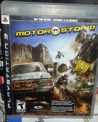 PS3 MotorStorm Original Bundle Edition Last One !!Plead Read!!