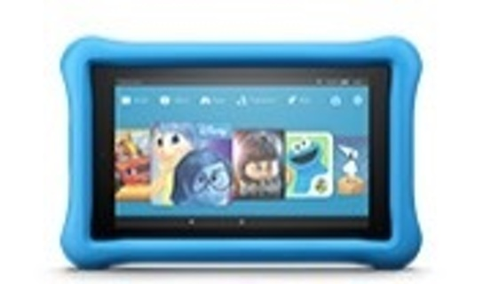"""2xAll-New Fire 7 Kids Edition Tablet, 7"""" Display, 16 GB,Kid-Proof Case"""