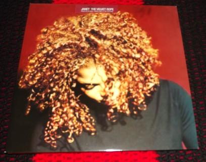 Janet Jackson The Velvet Rope 2 LP Vinyl Record Mint Condition