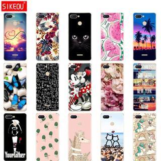 silicone case for Xiaomi Redmi 6 Case Full Protection Soft tpu Back Cover Case For Xiaomi Redmi6 b