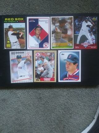 '70's-Present MLB Boston Red Sox (Lot of 7)