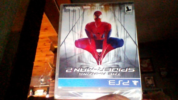 THE AMAZING SPIDERMAN FOR PS3