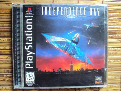 ~ INDEPENDENCE DAY ~ PlayStation 1 Game in VG Condition!
