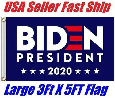 For Joe Biden for President 2020 Wall Flag 3FTx5FT Flag with Grommets Democratic