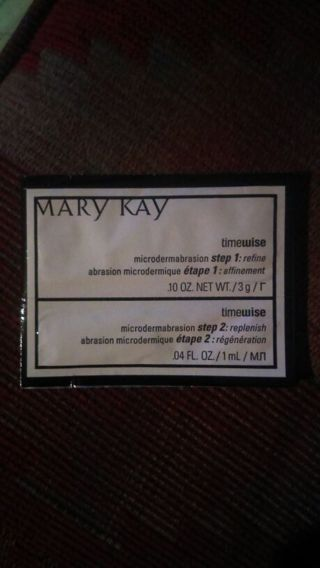 Mary Kay time wise microdermabrasion