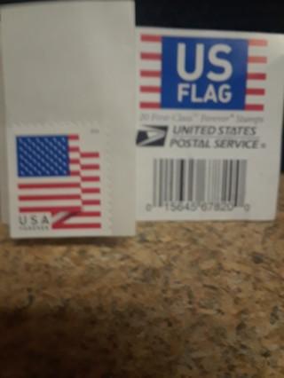 5 FOREVER STAMPS FLAG