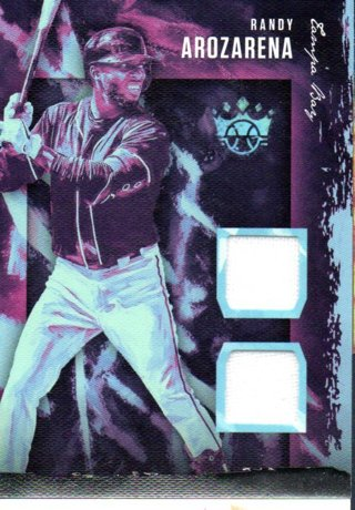 2020 Panini Diamond Kings Randy Arozarena Duel Swatch