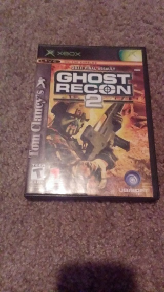 tom clancys ghost recon 2 for xbox