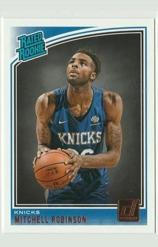 Mitchell Robinson *Rookie (2018-19 Donruss) New York Knicks...