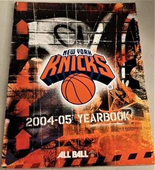 2004-05 NBA NY KNICKS Yearbook - 222 pages (3 pages missing)