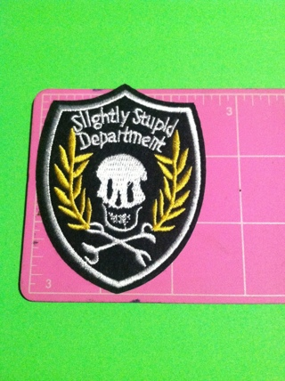 **~ Skull patch #13 Slightly Stupid Department ~**