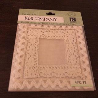 K & company dimensional craft frame sticker