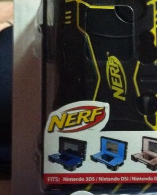****NEW**** DSi, Lite, 3DS Nerf Case