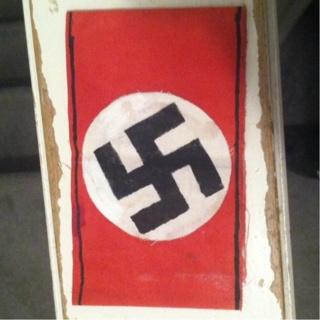 Free: Homemade Nazi Armband For Reenacting! - Other Clothing