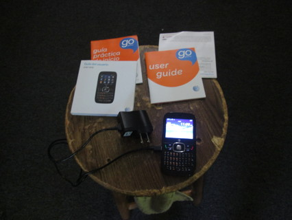 AT&T GO PHONE, KEYBOARD PHONE