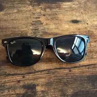 Rayban Wayfarer Black Unisex Men's Women's Sunglasses