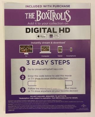 Over 50 free digital hd copy code vudu itunes ultraviolet disney.