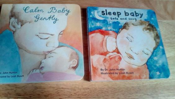 2 Children's Board Books By: Dr. John Hutton: EUC