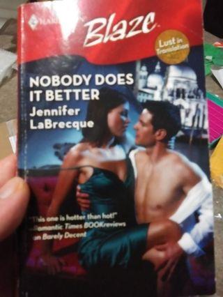 Nobody Does It Better by Jennifer LeBrecque