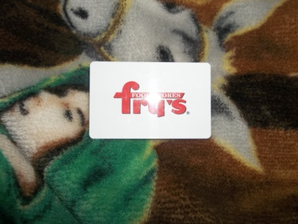 FRY'S OR KROGER  15.00 GIFT CARDS