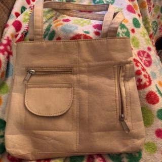 Tan purse