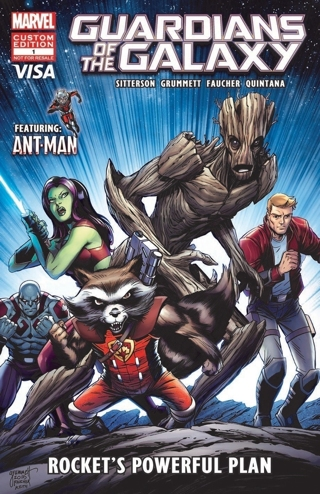 Guardians of the Galaxy Comic For Financial literacy for children