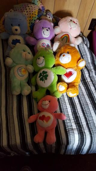 7 care bears READ ALL BEFORE BIDDING