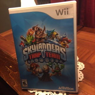 Skylanders Trap Team Wii Game