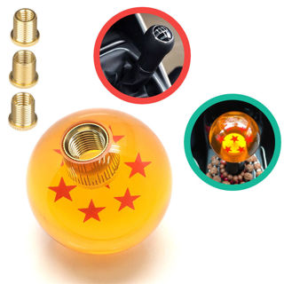 New Dragon Ball Z 7 Star 54mm Shift Knob With Adapters
