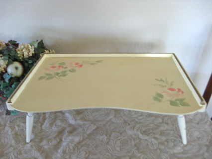VINTAGE ANTIQUE BREAKFAST & WRITING TRAY