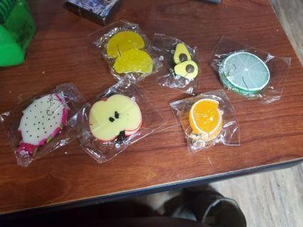 Fruit earings