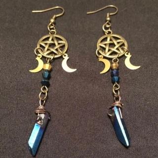 ⭐️ Handmade pagan earrings ⭐️