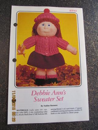 Debbie Ann's Sweater Set