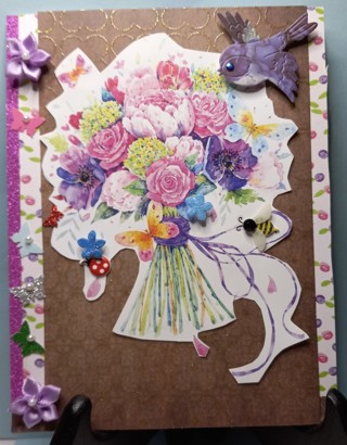 BN JUST FOR YOU CARD HAND CRAFTED