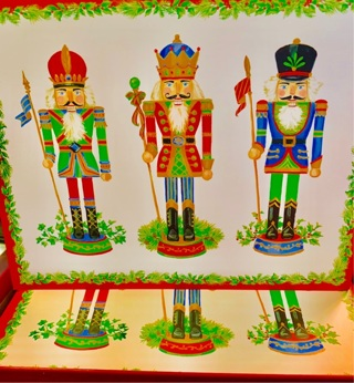 Lot of 4 Brand New Hard-to-Find Rare CASPARI Nutcrackers Christmas Greetings Cards + Envelopes