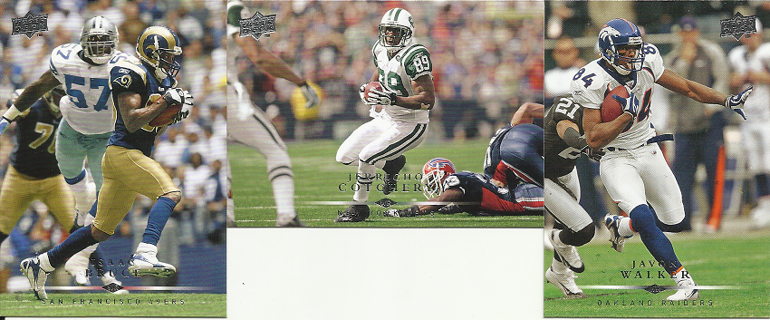 2008 Upper Deck-Lot Of (3) Football Cards-Wide Receivers-FREE SHIPPING!!!