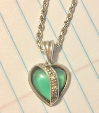 Real Sterling Silver  , Chain and Pendant (tested)