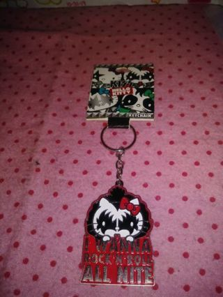 ❤✨❤✨❤BRAND NEW HELLO KITTY (KISS) KEYCHAIN❤✨❤✨❤ONLY 1!