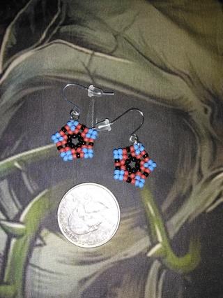 Pretty colorful earrings(17)