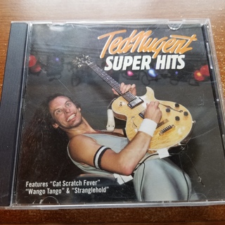 """Ted Nugent """"Super Hits"""" CD"""