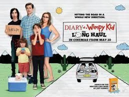 *ONLY ONE* Diary of a Whimpy Kid : The Long Haul *DIGITAL HD CODE ONLY*