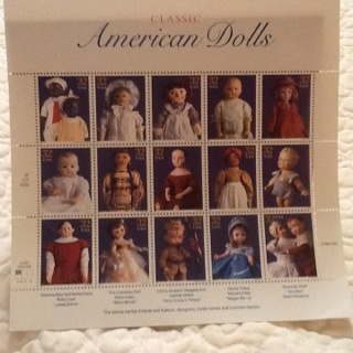 Classic American Dolls Stamp Plate