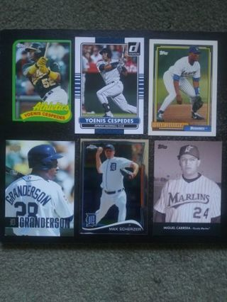 Detroit Tigers Players (Cespedes, Sheffield, Cabrera & More)