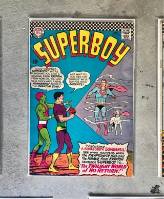 Superboy #128 12cent Cover Silver Age